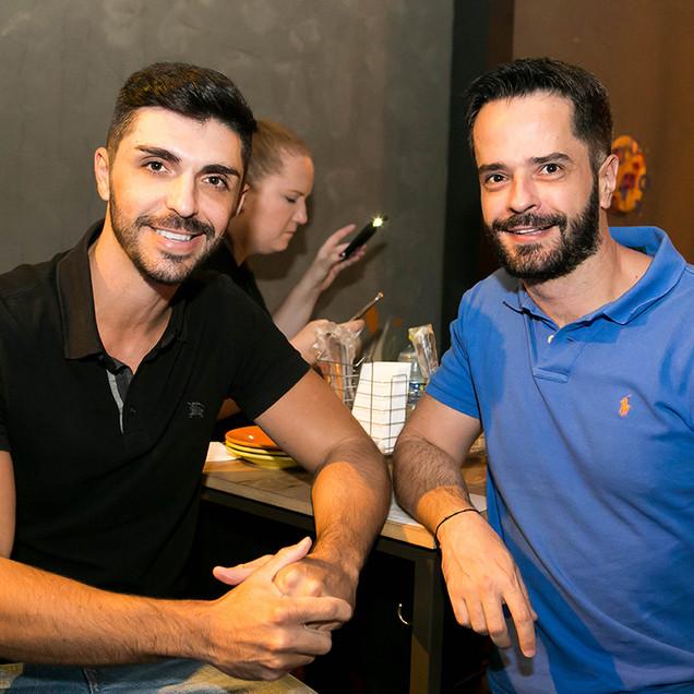 Maicon Jota e Guilherme Duarte _ foto Larissa Trentini