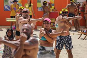Conexão Verão ofereceu um final de semana divertido na Praia da Enseada em São Francisco do Sul