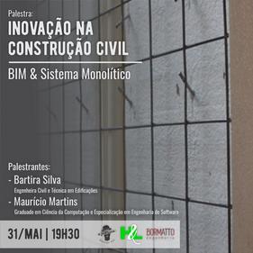 Palestra discute inovação na Construção Civil nesta sexta-feira (31), em Florianópolis