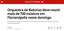 Cliente: Orquestra de Baterias