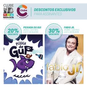 Assinantes dos jornais Diário Catarinense e Notícias do Dia têm desconto na Peixada do Gui e show do