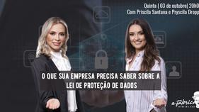 Lei Geral de Proteção de Dadosé tema de palestra em Florianópolis