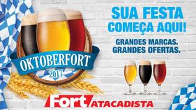 Largada para a Oktoberfest em encontro cervejeiro no Fort Atacadista