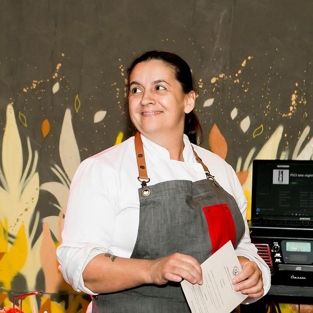 Chef Bel Hagemann _ foto Larissa Trentini