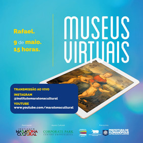 Projeto Museus Virtuais deste sábado (09) destaca o artista italiano Rafael