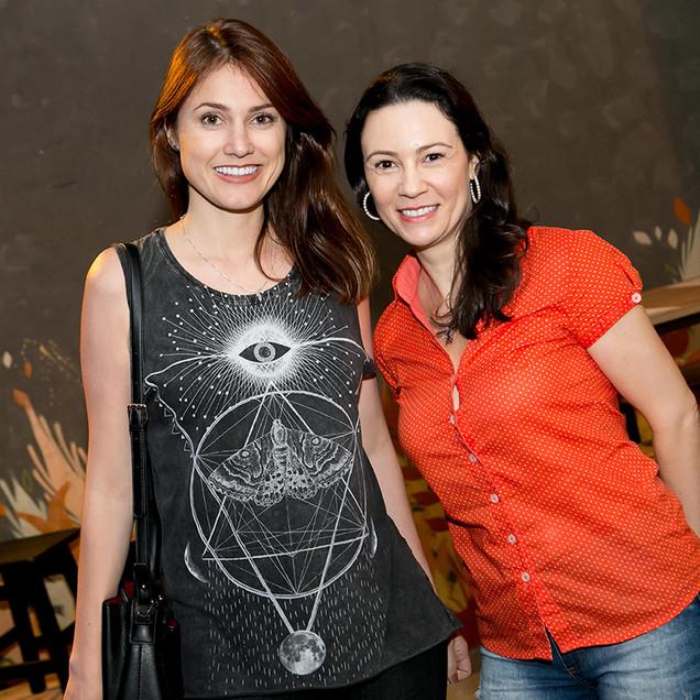 Julia Prado e Renata Diem _ foto Larissa Trentini