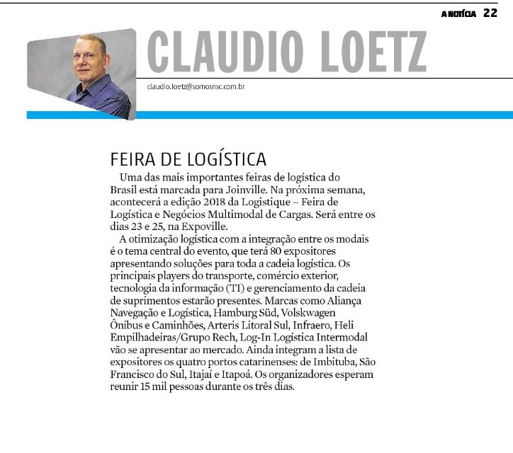 Cliente: Feira Logistique