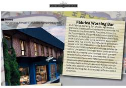 Cliente: A Fábrica Working Bar