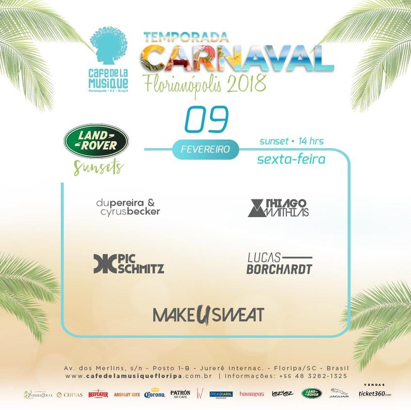 Programação Carnaval 2018