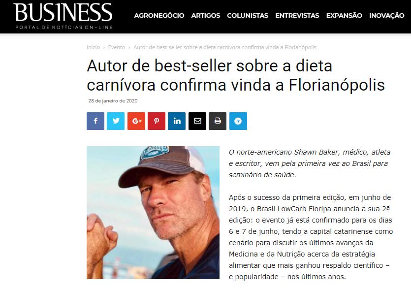 Cliente: Brasil Low Carb