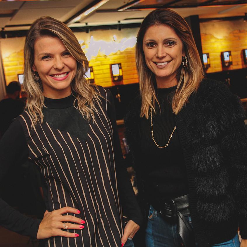 Mariana Paniz e  Carolina Machado _ foto