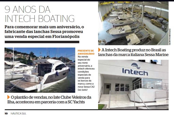 Intech Boating - Náutica Sul