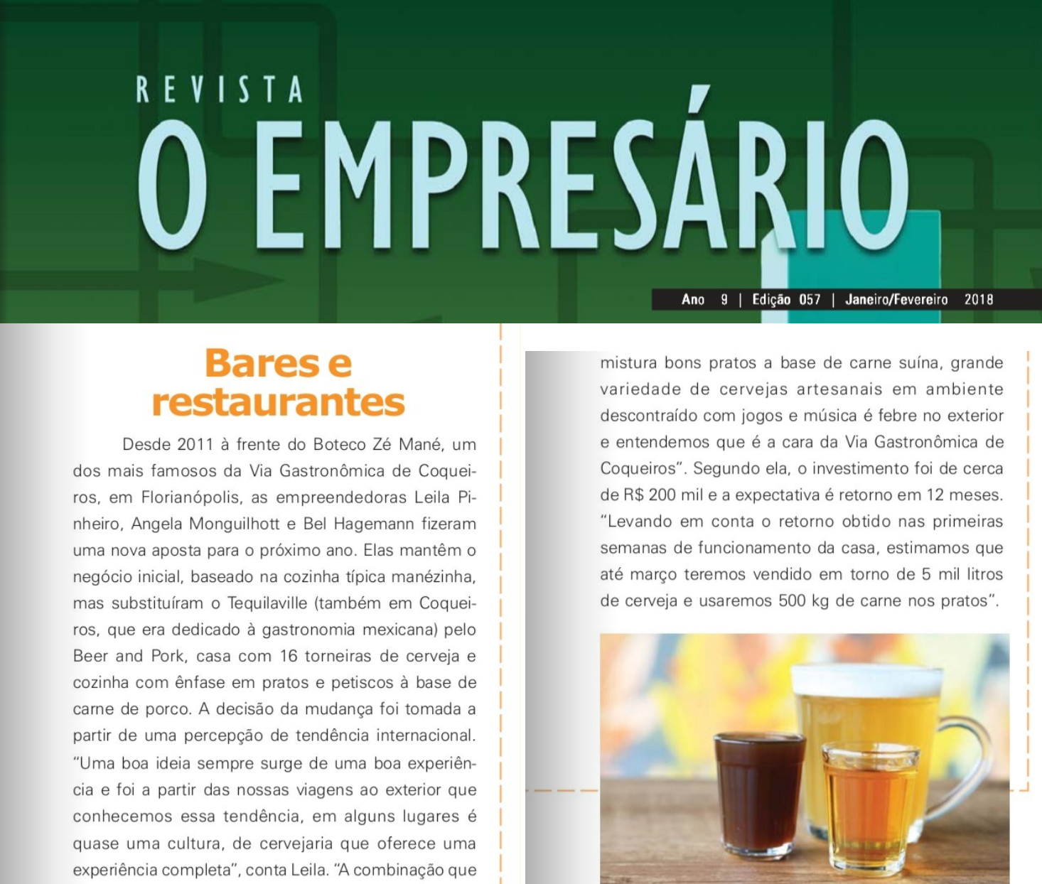 Cliente: Beer and Pork