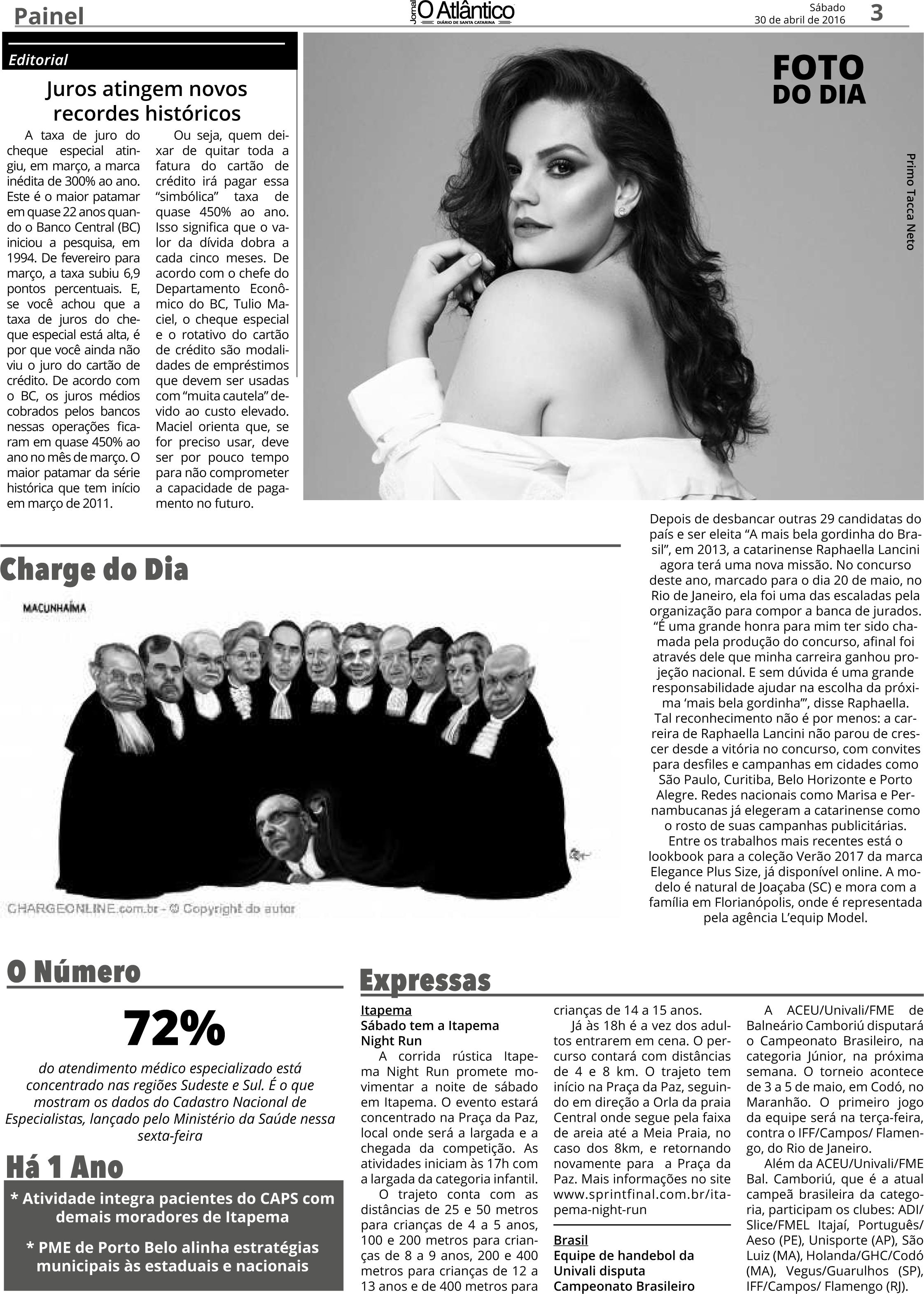 Raphaella Lancini - O Atlântico