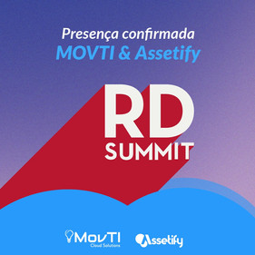 MOVTI Cloud Solutions e Assetify desembarcam em mais um evento como patrocinadores, desta vez no RD