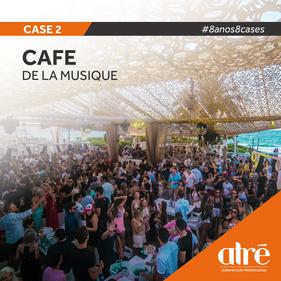 8 anos, 8 cases - Cafe de La Musique