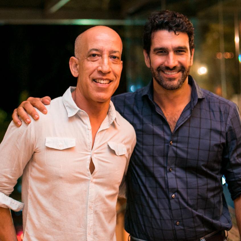 Pedro Leite (Itapema) e Fabio Queiroz (Alameda Casa Rosa)