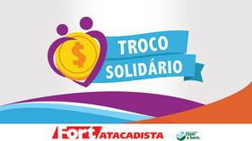 Projeto Troco Solidário do Fort Atacadista destina mais de R$ 244 mil a instituições catarinenses