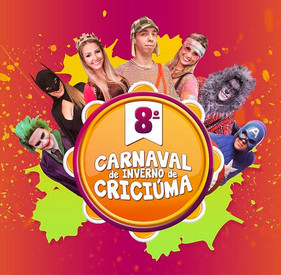 Confirmada a oitava edição do Carnaval de Inverno em Criciúma