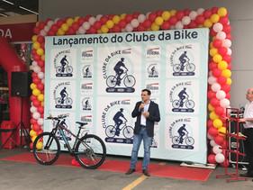 Clube da Bike chega a mais uma loja do Fort Atacadista, em Joinville