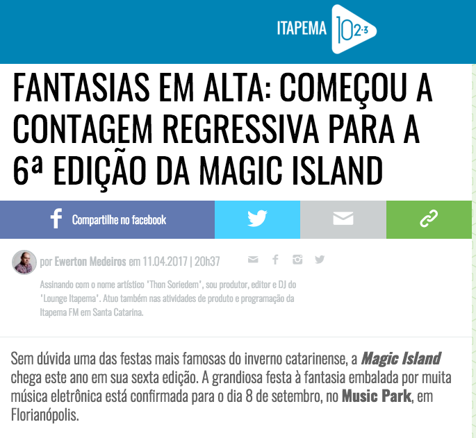 Magic Island (House Mag)