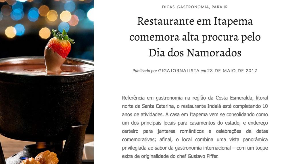 Indaiá Restaurante