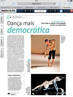 |Dança em Trânsito| Jornal Notícias