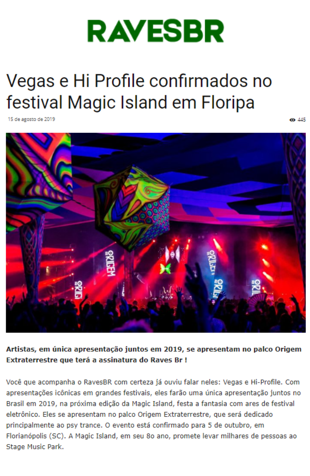 Cliente: Magic Island