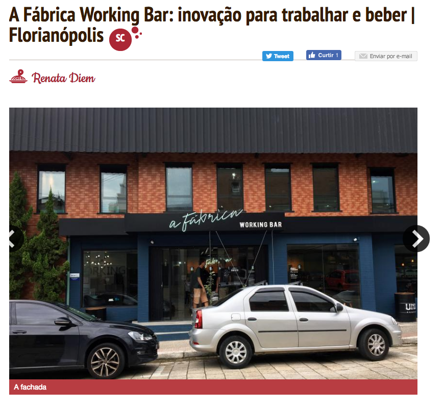 Cliente: A Fábrica Working Bar