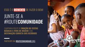 Organização social realiza campanha em prol de comunidades afetadas pela pandemia da Covid-19, em ci