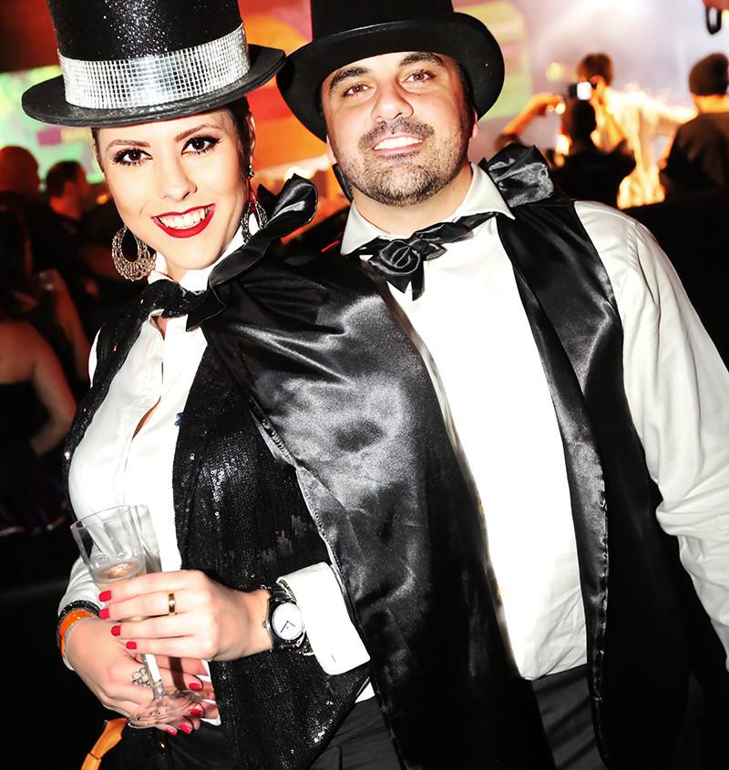 Marianne Ferreira e Juninho Cavichioli _ foto Angelo Santos