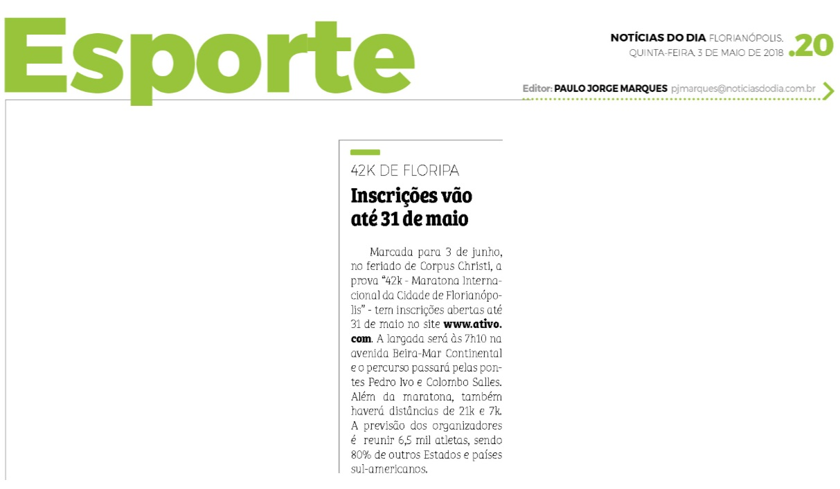 Cliente: Norte MKT Esportivo