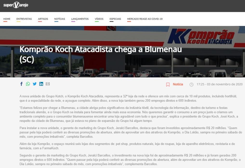 Cliente: Grupo Koch