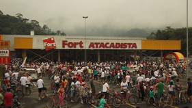 Passeio ciclístico movimenta o feriado em Jaraguá do Sul