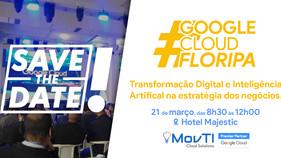 Florianópolis sedia o 2º 'Google Cloud Floripa' no próximo dia 21