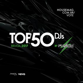 Público já pode eleger seus DJs favoritos no Top 50 Brasil