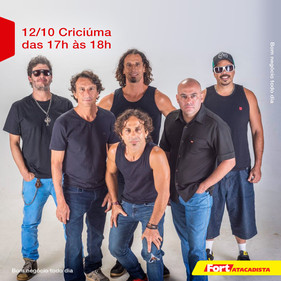 Fort Atacadista comemora 20 anos com shows gratuitos do Dazaranha