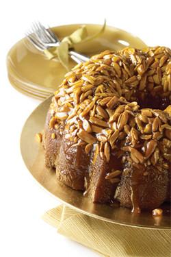 Honey Nut Bundt Cake