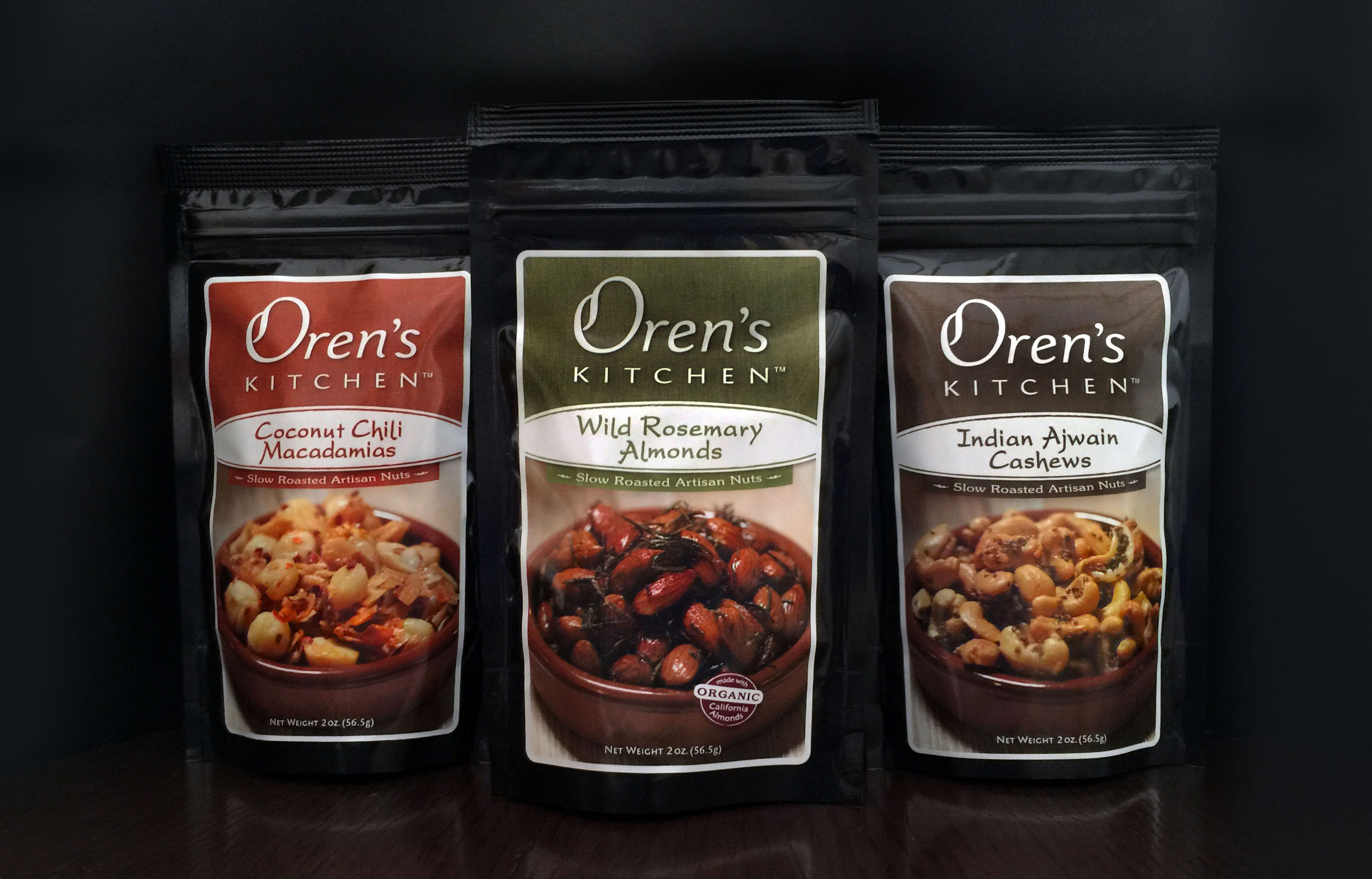 Oren's Kitchen Artisan Nuts