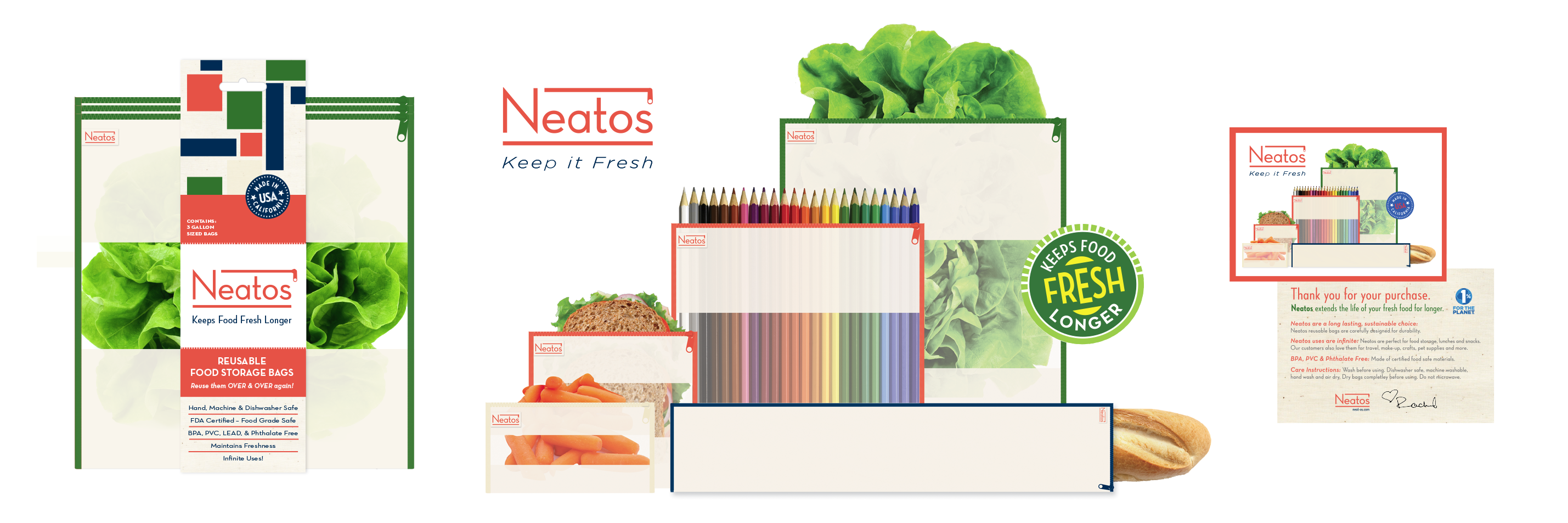 Neatos Reusable Bags