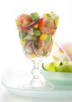 Jamaican Shrimp Salad
