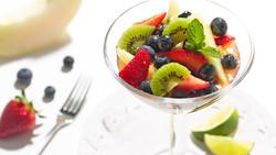 Ginger Lime Fruit Salad