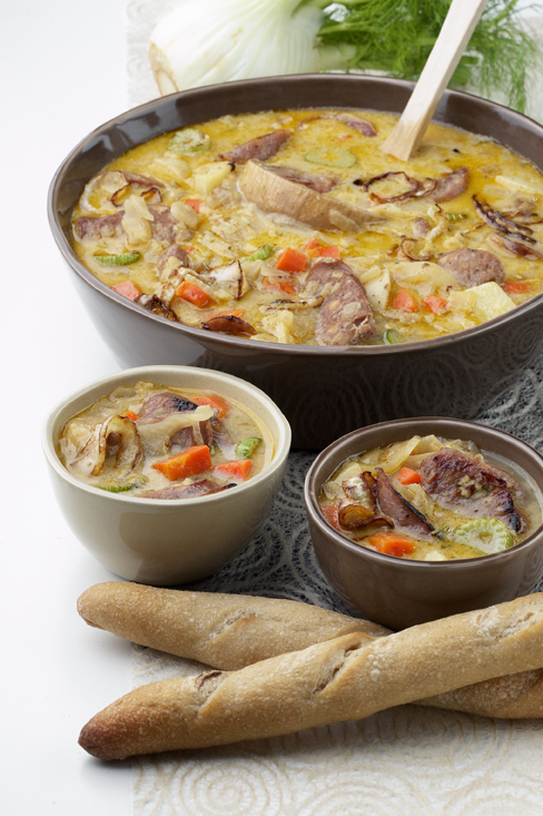 Fennel and Sausage Soup
