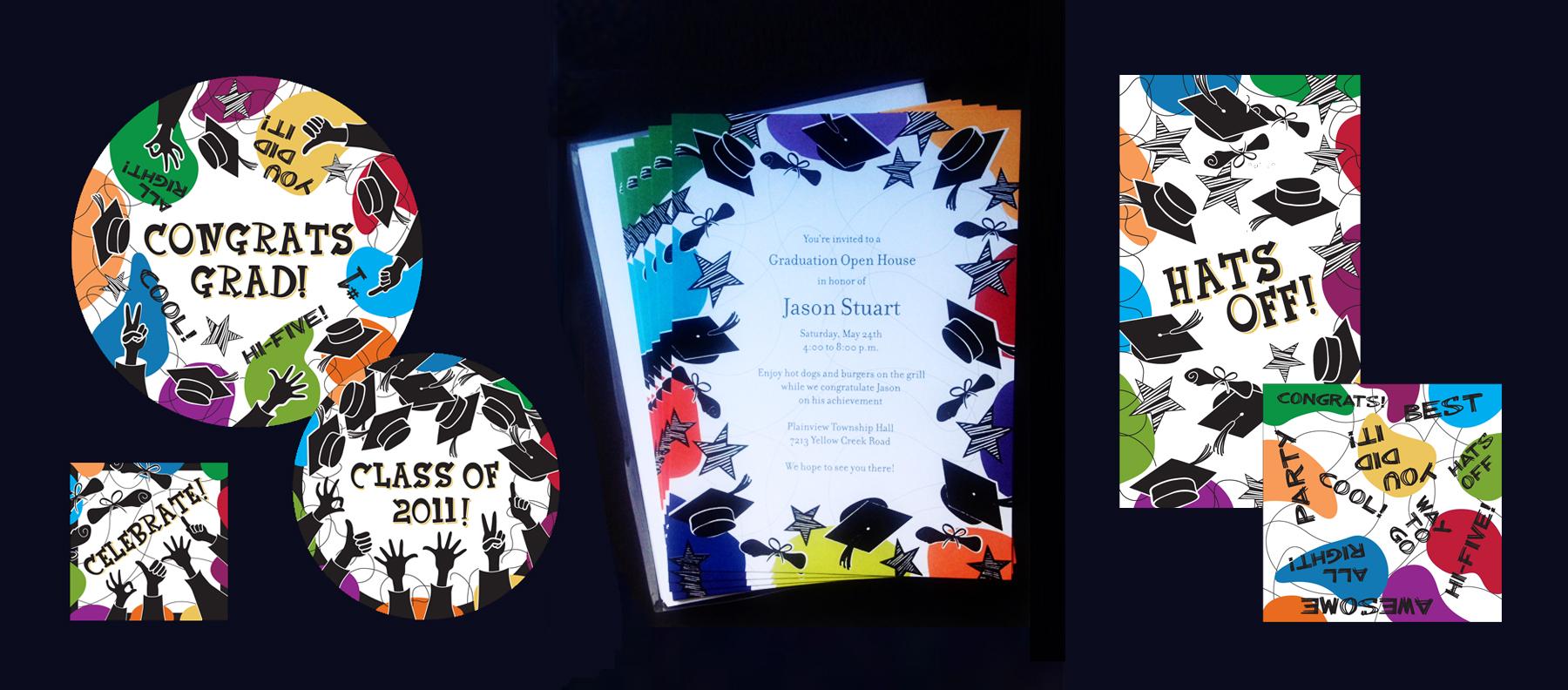 Licensed Art Imprintable Invitations