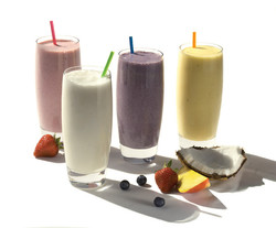 Coconut Fruit Smoothies