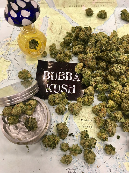 Green Leaf Cannabis  - Bubba Kush