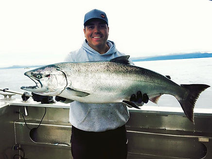Sitka Alaska Charter Fishing on the Pacific Parallax