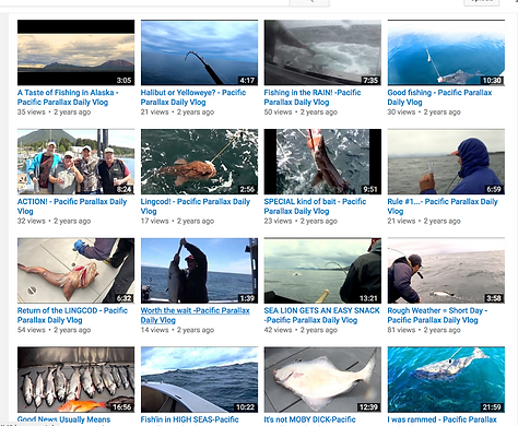Pacific Parallax Sitka Alaska Charter Fishing