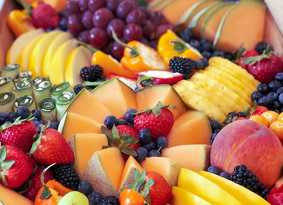 Platinum Fruit and Veggie Platter