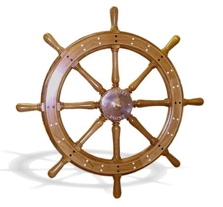 National Heritage Museum Ship Wheel 3